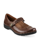 Clarks Un.Cedar Brown Leather