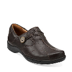 Clarks Un.Maple Dark Brown Leather