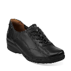 Clarks Un.Cheer Black Leather