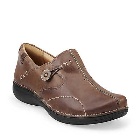 Clarks Un.Loop Taupe Distressed Leather