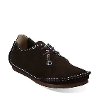 Clarks Faraway Field Dark Brown Suede