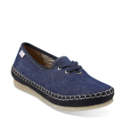 Clarks Faraway Beach Navy Canvas