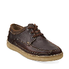Clarks Suomi Camp Brown Oily Leather