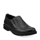 Clarks Doby Plain Toe Black