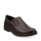 Clarks Doby Plain Toe Brown