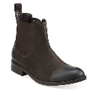Clarks Wallace Cap Boot Brown