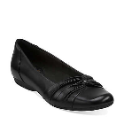 Clarks Chateau Manor II Black Leather
