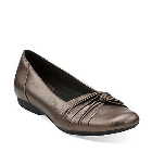 Clarks Chateau Manor II Grey Metallic