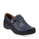Clarks Un.Maple Navy Leather