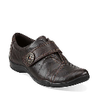 Clarks Kessa Betty Dark Brown Leather