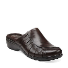 Clarks Ruthie Shine Dark Brown Leather