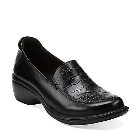 Clarks Mill Square Black Leather