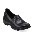 Clarks Mill Square Navy Leather