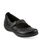 Clarks Ashland Avenue Black Tumbled