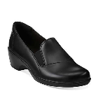 Clarks May Ivy Black Leather