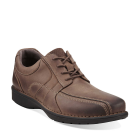 Clarks Sektor 4 Eye Brown Leather