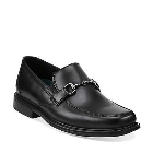 Clarks Eastwood Slip On Black Leather