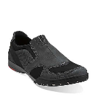 Clarks Wave.Nimble Black Suede