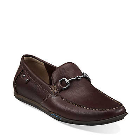 Clarks Rango Roll Brown Leather