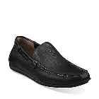 Clarks Rango Rumba Black Leather