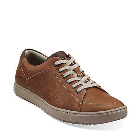 Clarks Niven Life Tan Leather