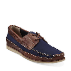 Clarks Craft Row Navy