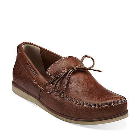 Clarks Craft Mast Brown Leather