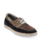 Clarks Jax Navy Tan