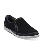 Clarks Vulcan Juno Navy Leather
