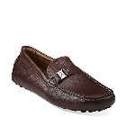 Clarks Clutch Engine Brown Leather