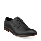 Clarks Euston Walk Black Leather