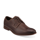 Clarks Euston Walk Brown Leather