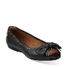 Clarks Aldea Joy Black Leather