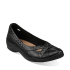 Clarks Kessa Nora Black Leather