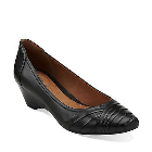 Clarks Ryla King Black Leather