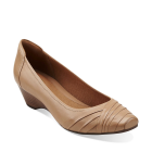 Clarks Ryla King Tan Leather