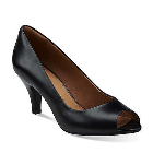 Clarks Cynthia Avant Black Leather