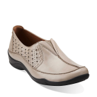 Clarks Kessa Grace Taupe Leather