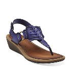 Clarks Millie Flare Purple