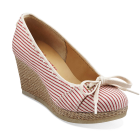 Clarks Vogue Rose Red/White