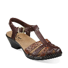 Clarks Wendy Lily Brown Multi