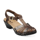 Clarks Wendy Lily Metallic Multi