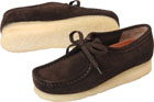 Clarks Wallabee Boot Chocolate Suede