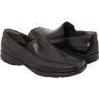 Clarks Candido Black Leather