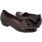 Clarks Timeless Dark Brown Croco