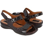 Clarks Sarasota Dark Brown Croco
