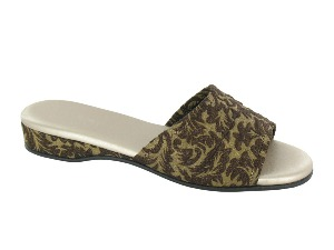 Daniel Green Dormie Gold Damask