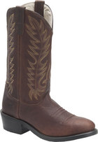 Double H Boot 12 Inch Work Western Walnut