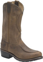Double H Boot 12 Inch Work Western Tan Crazyhorse