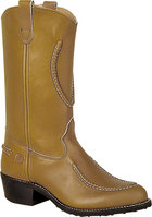 Double H Boot 12 Inch Work Western Mahogany Oil Tan